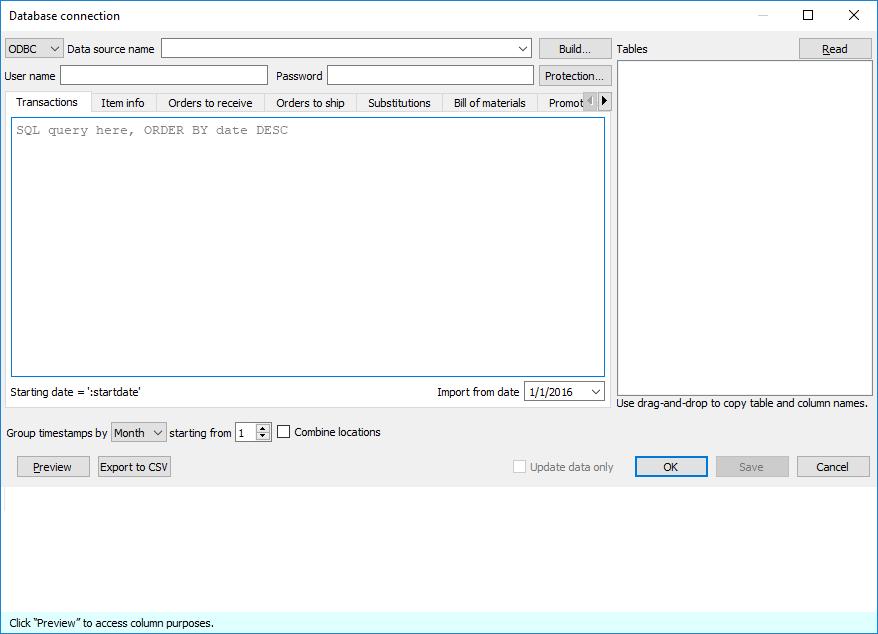 3 4 2  Importing data - Streamline User Guide