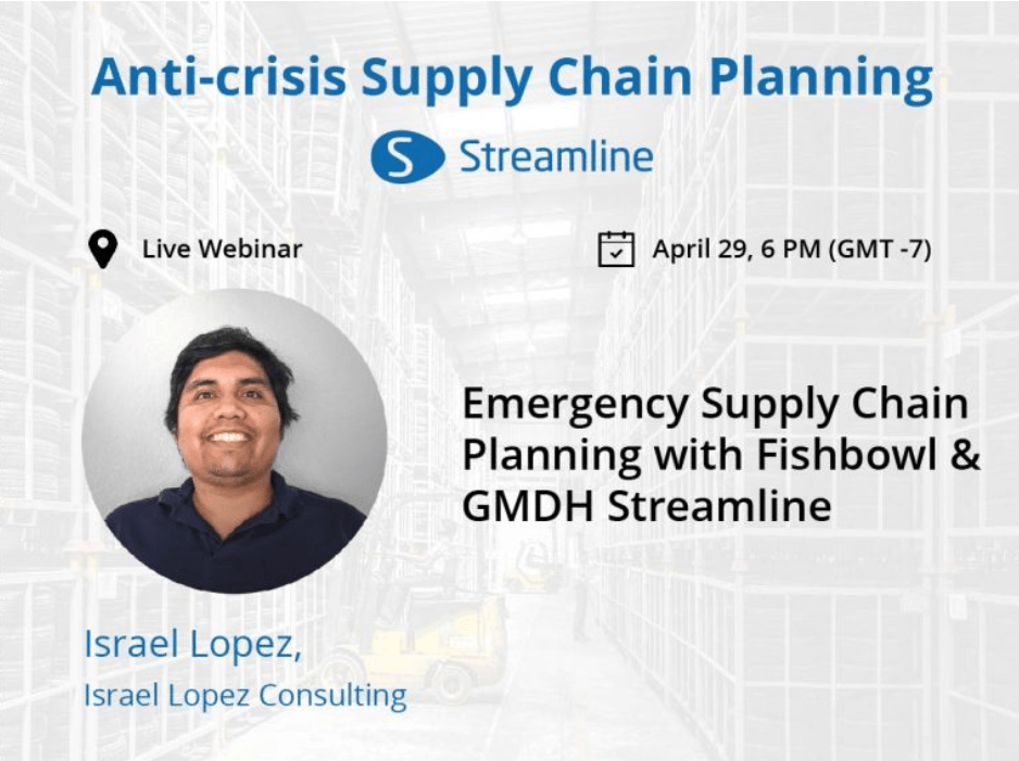 Emergency Supply Chain Planning with Streamline & Fishbowl.