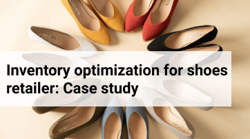 Inventory optimization for handcrafted shoes retailer