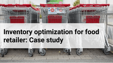 How Streamline optimized inventory planning for the largest food retailer in the Middle East