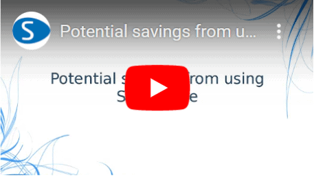 Potential savings from using Streamline