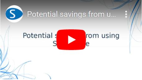 Streamlineを使用することによる潜在的な節約