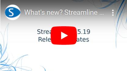 มีอะไรใหม่ Streamline เวอร์ชัน 5.1.19