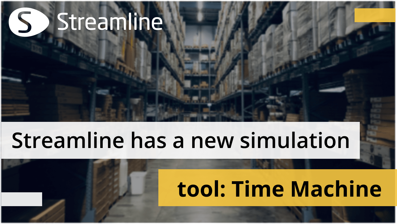 Strumento di simulazione Streamline: Time Machine.