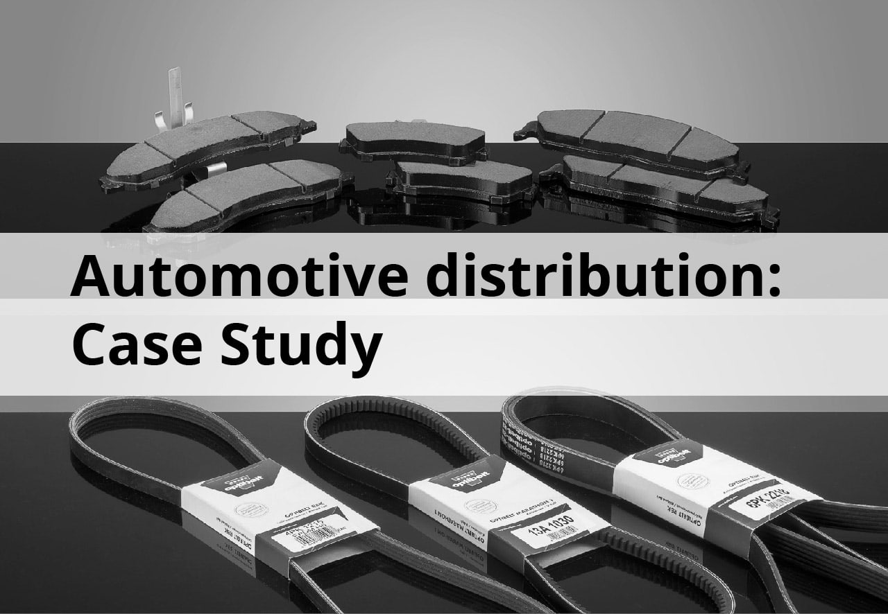 Inventory optimization for a 40-year autoparts distributor: Case Study.