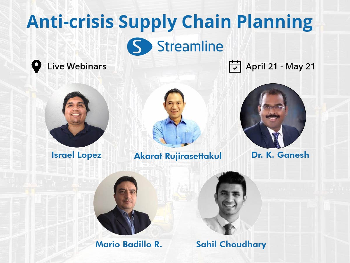 Photos of speaker of Anti-crisis Supply Chain Planning: Live Webinar Series